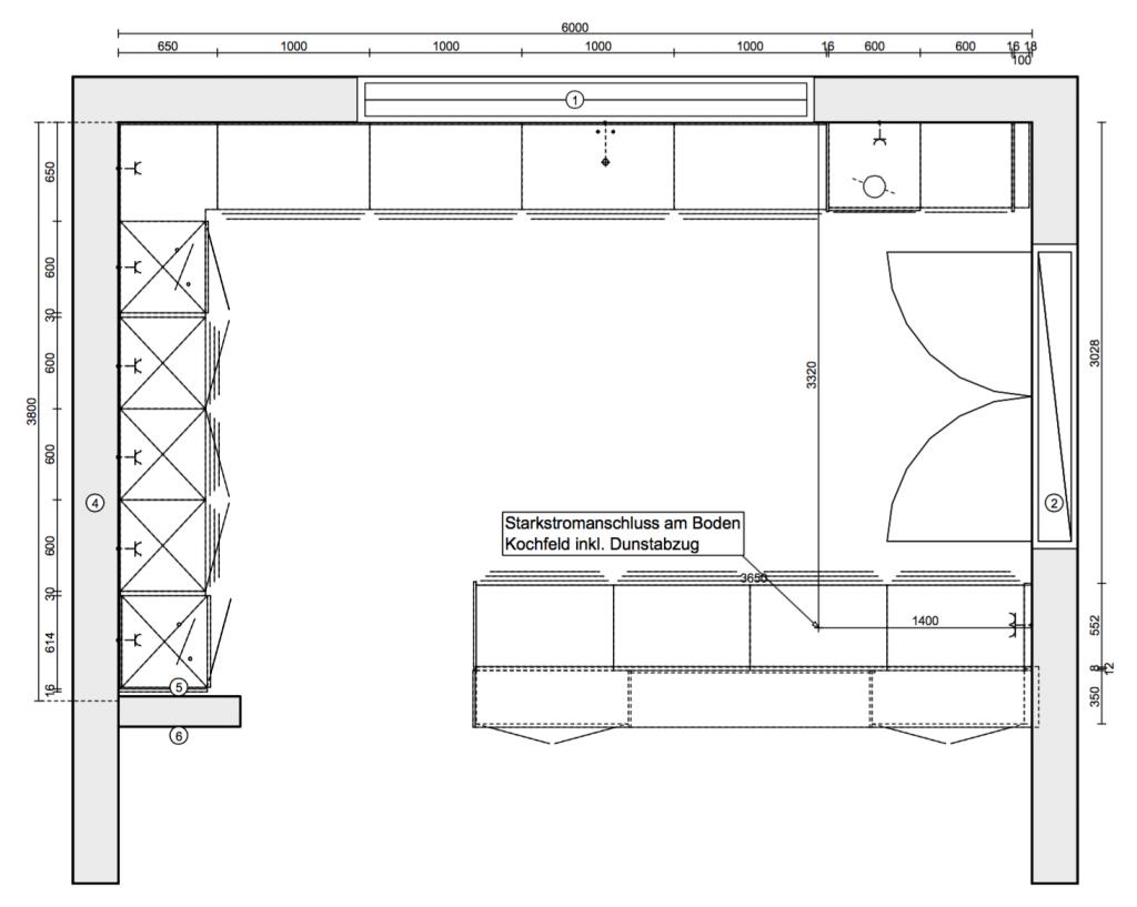 k chenplanung die ganze geschichte einfamilientraumhaus mit noriplana. Black Bedroom Furniture Sets. Home Design Ideas